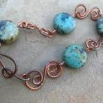 Handcrafted Copper Bracelet..